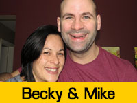 Becky and Mike's Team Page