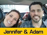 Jennifer & Adam's Team Page