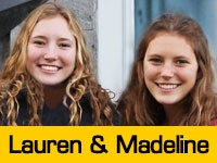 Lauren and Madeline's Team Page