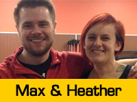 Max and Heather's Team Page