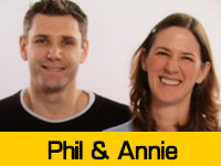 Phil and Annie's Team Page