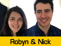 Robyn & Nick's Team Page