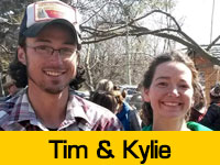 Kylie and Tim's Team Page