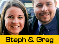 Stephanie and Greg's Team Page